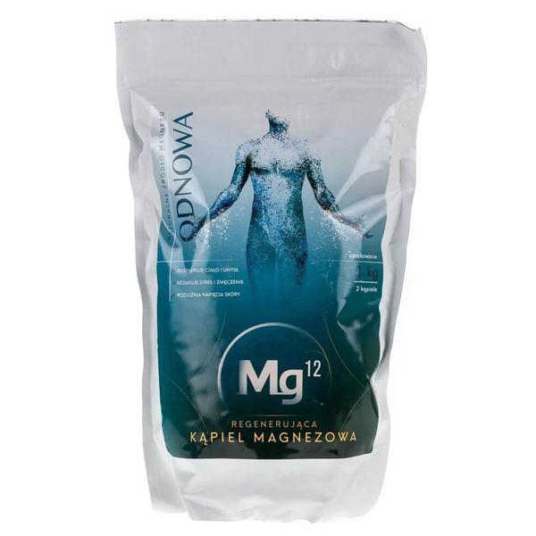 Mg12 Regenerujące płatki magnezowe do kąpieli Odnowa - 1 kg zdjęcie 1