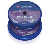 DVD+R Verbatim 4.7GB (Cake 50) MATT SILVER