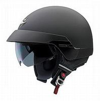 24h_KASK SCORPION EXO-100 SOLID MATTE BLACK M