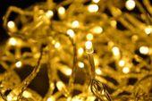 Lampki ogrodowe 100 LED ciepłe białe