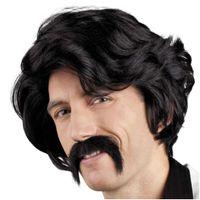 PERUKA party CHUCK disco DON JUAN lovelas z wąsem