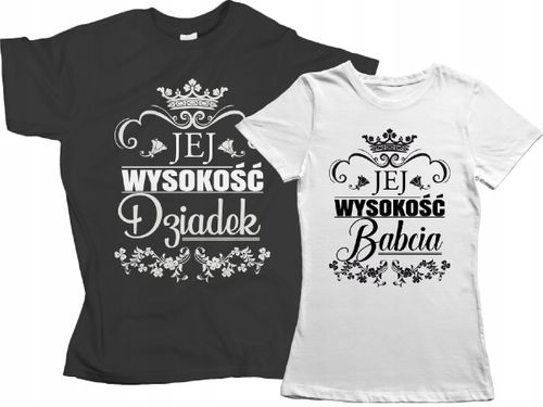 Zestaw koszulek dla DZIADKA BABCI prezent Dzień !! na Arena.pl