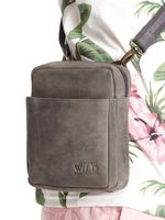 Męska torba ze skóry naturalnej, listonoszka miejska, Always Wild