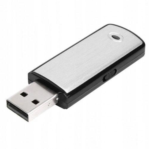 DYKTAFON PODSŁUCH PENDRIVE 8GB DETEKCJA VOX USB zdjęcie 3