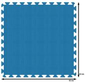 PUZZLE PIANKOWE MATA 4szt 62x62x1,1 cm Niebieski zdjęcie 4