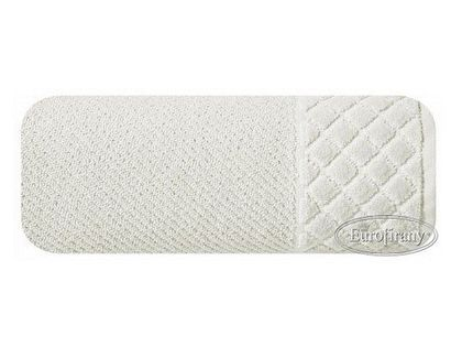 Lumarko Ręcznik SAVA 70x140cm 01/kremowy