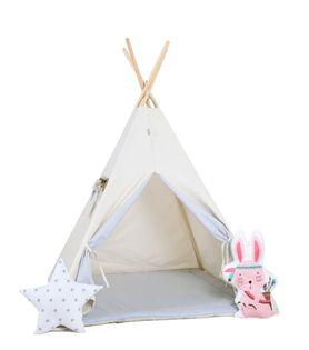 Namiot tipi dla dzieci, bawełna, okienko, królik, kłapouchy