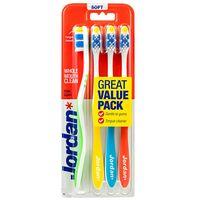 Jordan Total Clean Szczoteczka Do Zębów Soft 4Szt.