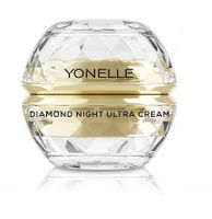 Yonelle Diamond Night Ultra Cream Diamentowy Krem Do Twarzy I Ust Na Noc 50Ml