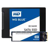 """Dysk SSD WD Blue 1TB 2,5"""" (560/530 MB/s) WDS100T2B0A 3D NAND"""