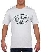 Koszulka męska Offline S Biały