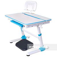 Biurko dziecięce regulowane (5-18lat) Carezza Blue