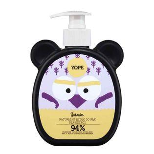 Naturalne mydło w płynie do rąk dla dzieci Jaśmin 400ml Yope
