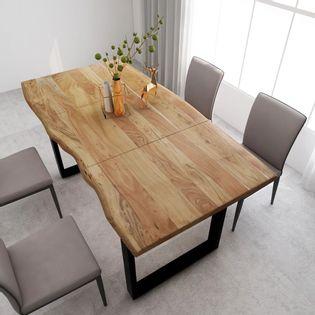 Stół jadalniany, 180x90x76 cm, lite drewno akacjowe