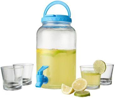 Zestaw do serwowania drinków Niebieski