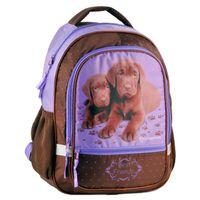 Plecak szkolny dla dziewczynki pieski paso