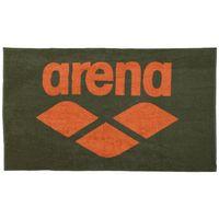 ARENA RĘCZNIK POOL SOFT TOWEL ARMY-TANGERINE 150X90 CM BASEN TRENING