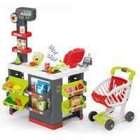 Smoby - Supermarket Duży z kasą, wagą, wózkiem i akcesoriami 350213