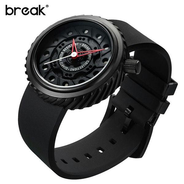 Nowoczesny, męski zegarek Break w eleganckim pudełku zdjęcie 2