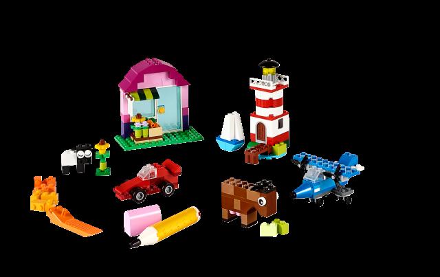 LEGO Classic - Kreatywne klocki LEGO 10692 zdjęcie 2