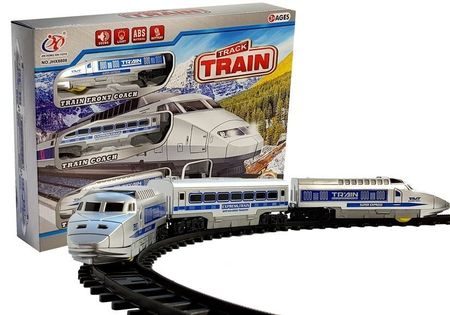 Pociąg Kolejka Na Baterie Ze Światłami I Dźwiękiem