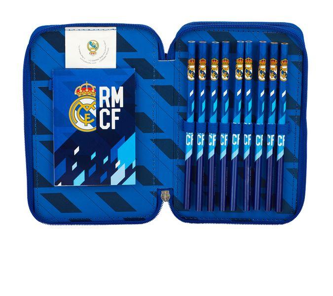 Piórnik podwójny z wyposażeniem Real Madryt RM-134 zdjęcie 3