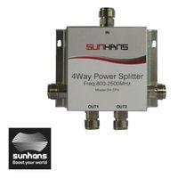 Splitter Sunhans SH-SP4 4WAY GSM/3G/4G 800-2500MHZ