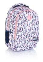 Plecak szkolny młodzieżowy Astra Head HD-328, piórka
