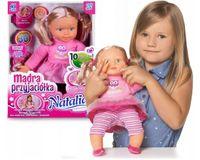 Natalia MĄDRA PRZYJACIÓŁKA Lalka Interaktywna MÓWI