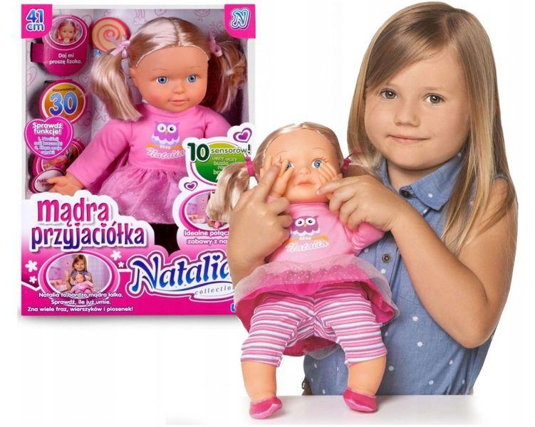 Natalia MĄDRA PRZYJACIÓŁKA Lalka Interaktywna MÓWI zdjęcie 1