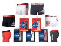 Bokserki Nasa Boxer Basic-Stripe Grey NASA-BOXER50 XXL