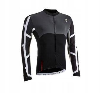 Koszulka CUBE BLACKLINE Jersey L/S B/W/G XL