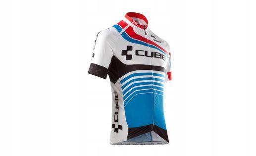 Koszulka rowerowa CUBE TEAMLINE Jersey S/S roz. XL