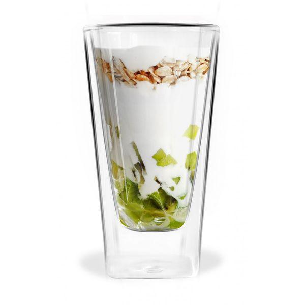 Szklanki Termiczne z Podwójna Ścianką Kawa Latte Herbata Łyżeczki 6szt zdjęcie 2