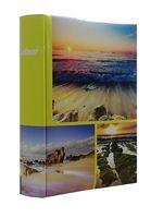 ALBUM, albumy na zdjęcia szyty 200 zdjęć 10x15 cm opis 1140 żółty