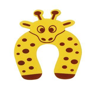 Stoper zwierzak - blokada klin do drzwi Wzór - Żyrafka