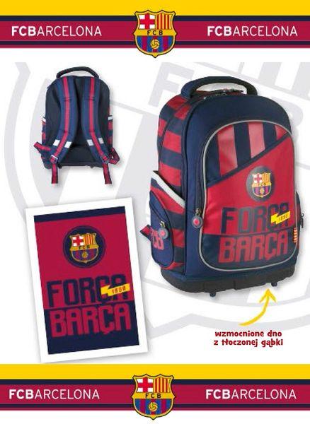 FC Barcelona Barca Fan 4 Plecak szkolny FC-87 usztywniony zdjęcie 3
