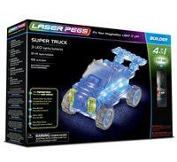 Laser Pegs Świecące Klocki 4W1 Super Truck 41013