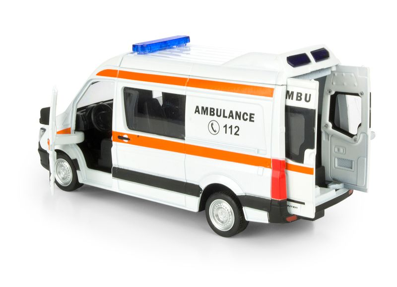Mercedes Benz Sprinter Ambulans Ratunkowy zdjęcie 2