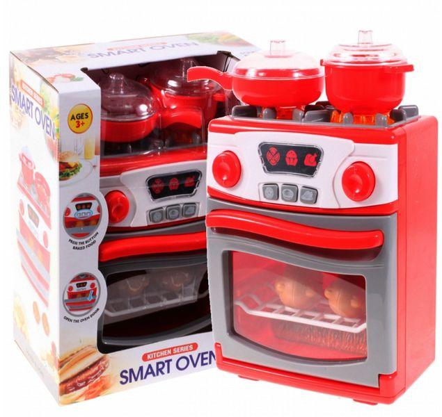 Kuchenka dla dzieci Piekarnik LED Garnki Kurczak Ruszt Kuchnia U29 zdjęcie 11