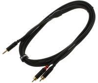 Kabel przewód sygnałowy mini Jack - RCA 1,5 m