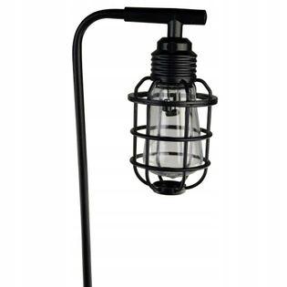 Lampa solarna żarówka na piku 80 cm
