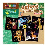 Velvet kolorowanka - Muzycy z dżungli