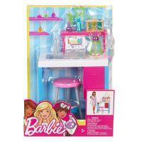 Barbie zestaw mebelków pracownia naukowa