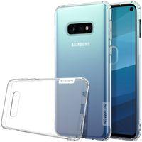 Nillkin Nature żelowe etui pokrowiec ultra slim Samsung Galaxy S10e przezroczysty