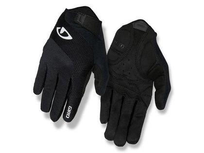 Rękawiczki damskie GIRO TESSA GEL LF długi palec black roz. L (obwód dłoni 190-204 mm / dł. dłoni 185-195 mm) (NEW)