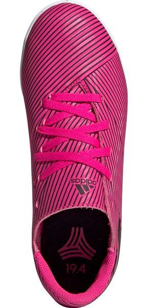 Buty piłkarskie adidas Nemeziz 19.4 IN Junior różowe F99939 38