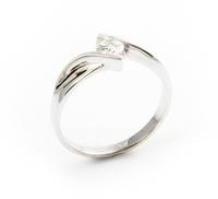 Pierścionek Zaręczynowy z Brylantem [PZB -004] ROZMIAR - 11
