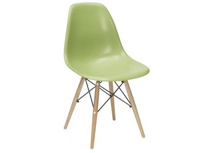 Krzesło ZIELONE dziecięce nowoczesne skandynawskie dsw dsr 071-1