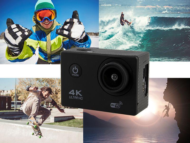 Kamera sportowa 4K Ultra HD wi-fi wodoszczelna do 30 metrów T273 zdjęcie 7